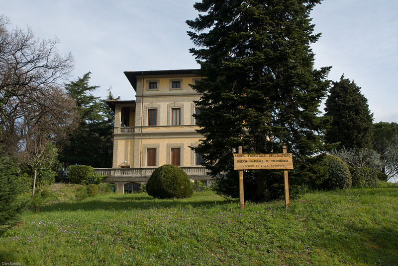 The meeting was held in the building of Corpo Forestale Della Stato, Firenze
