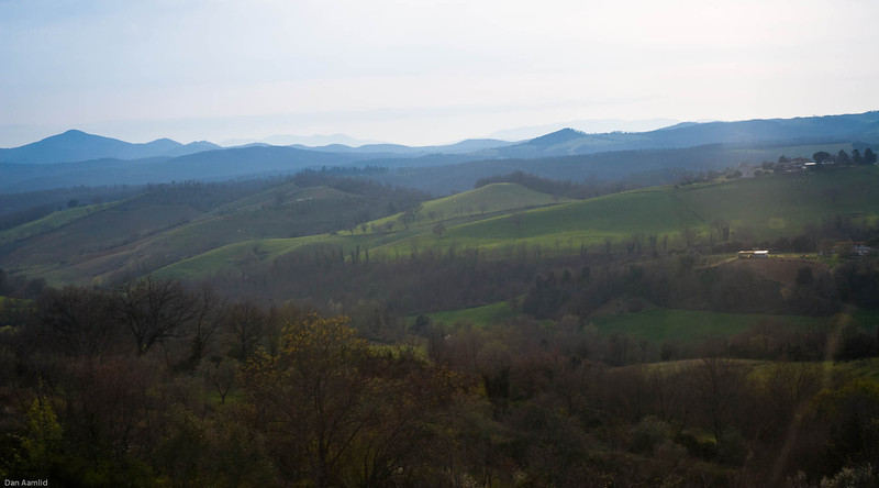 Somewhere west of Firenze