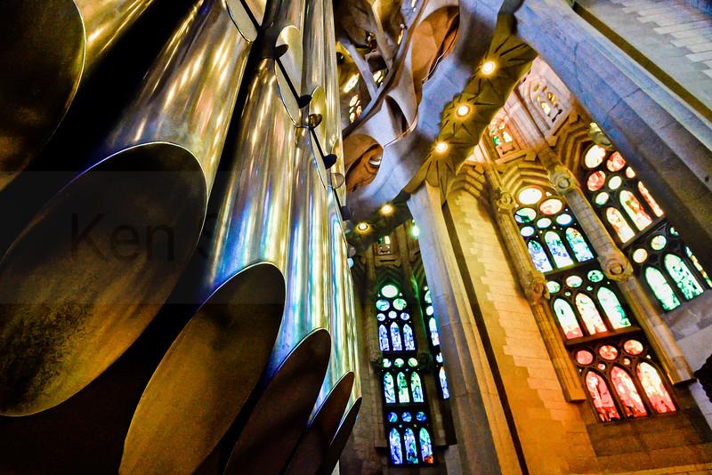 Gaudi Pipes