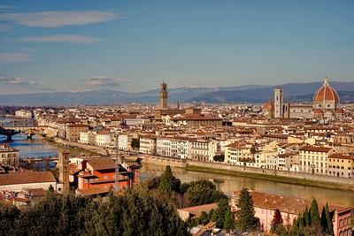 Winter in Firenze