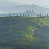 The Pathway Over The Top - Val d'Orcia Region, Tuscany, Italy