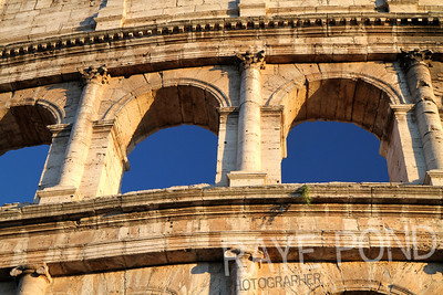 Coloseum in Rome.