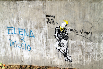 Graffiti in Florence.