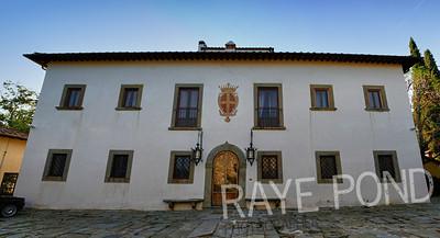 Villa Di Masseto in Fiesole, Italy.