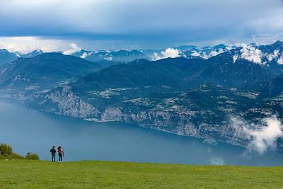 Lombardia view at Lake Garda