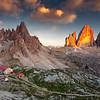 The Three Peaks of Lavaredo.