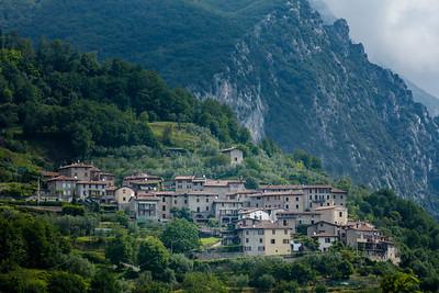 Italian village Musaga