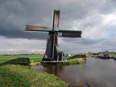 Grosmolen te Hoogmade. Wipmolen anno 1640.