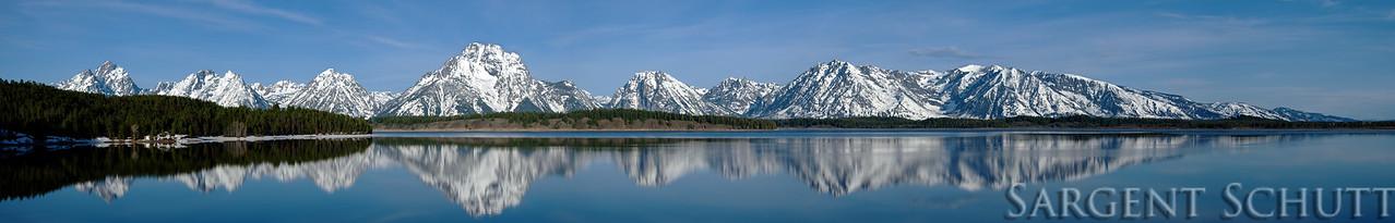 Jackson Lake Panorama 4-24-12