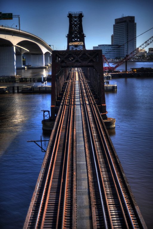 Jacksonville Florida Riverwalk HDR