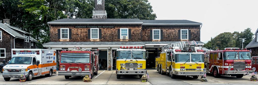 Jamestown Volunteer Fire Department's tribute to 9/11/2014