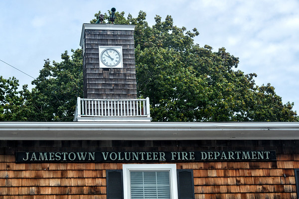 Jamestown Volunteer Fire Department's tribute to 9/11/2014