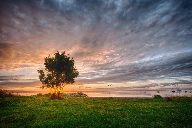 Sunset Beach, Jamestown, Rhode Island.