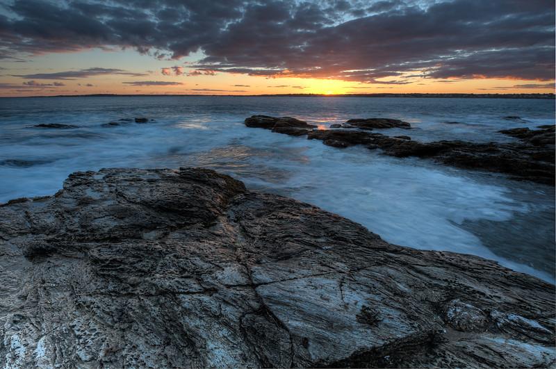 Beavertail @ Sunset, Jamestown, Rhode Island