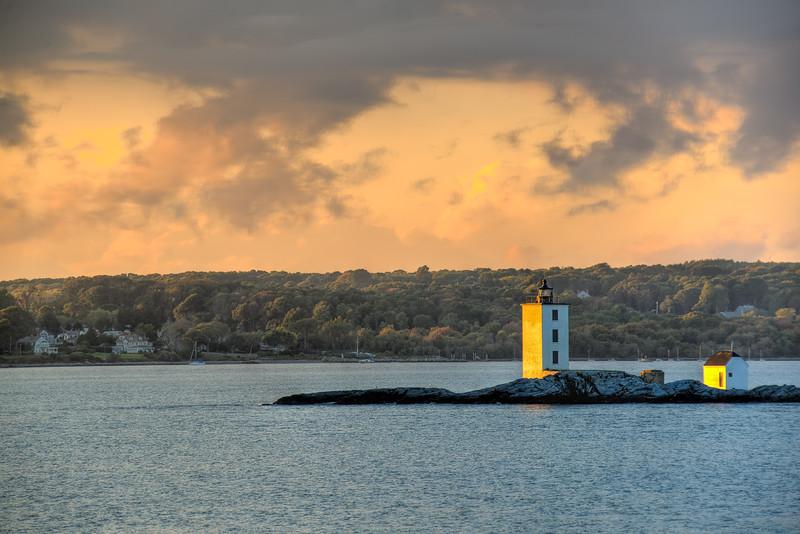 Dutch Island Light West Passage Narragansett Bay