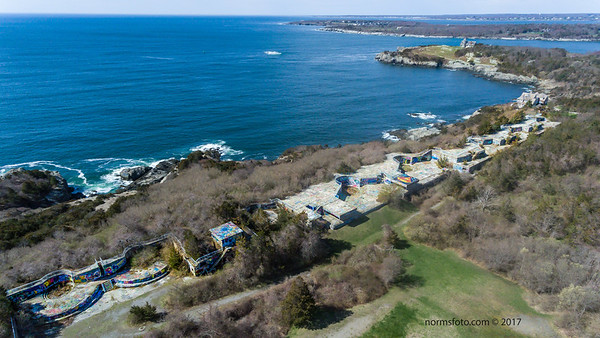 Shore Batteries at Fort Wetherill