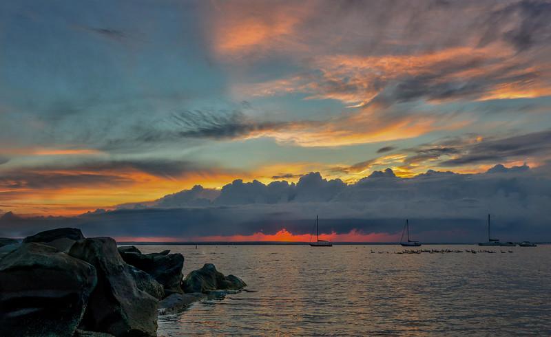 Sunset Beach Jamestown Rhode Island