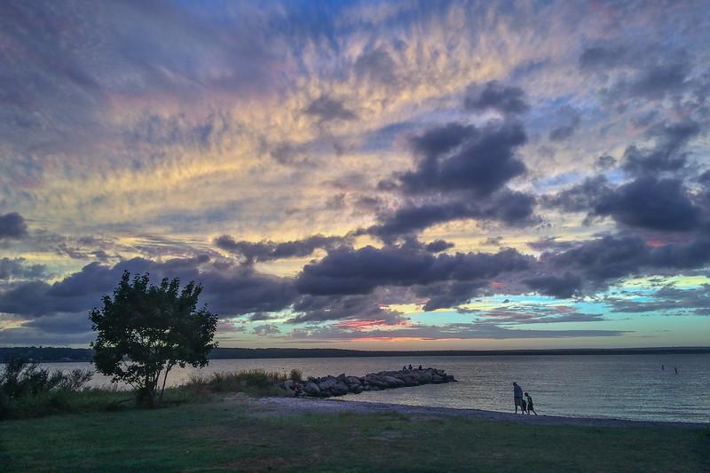 Sunset Beach Jamestown, Rhode Island