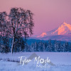 33  G Hood Snowy Sunset