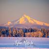 13  G Hood Snowy Sunset