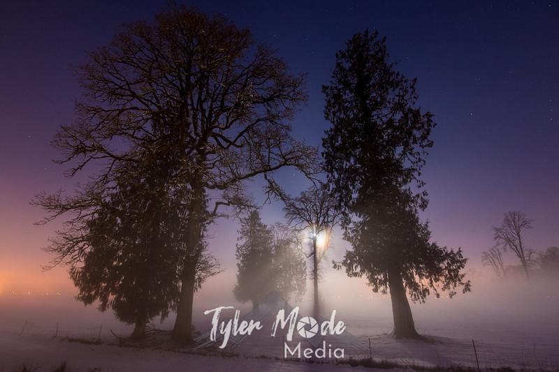 95  G Moon, Snow and Fog Battle Ground