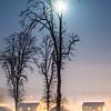 75  G Moon, Snow and Fog Battle Ground V