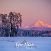 29  G Hood Snowy Sunset