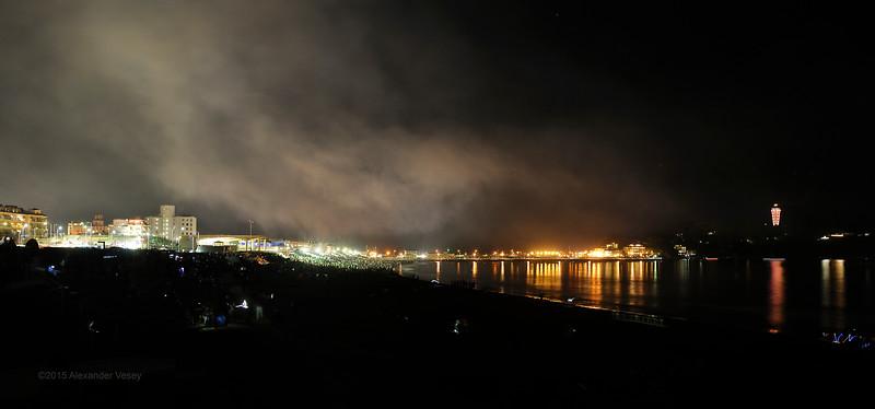 Fujisawa after the fireworks