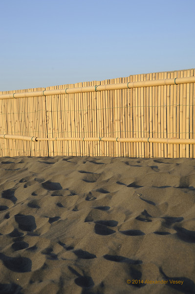 Sand barrier