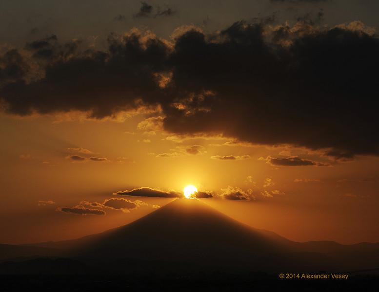 Fuji Mandala 富士曼荼羅 1