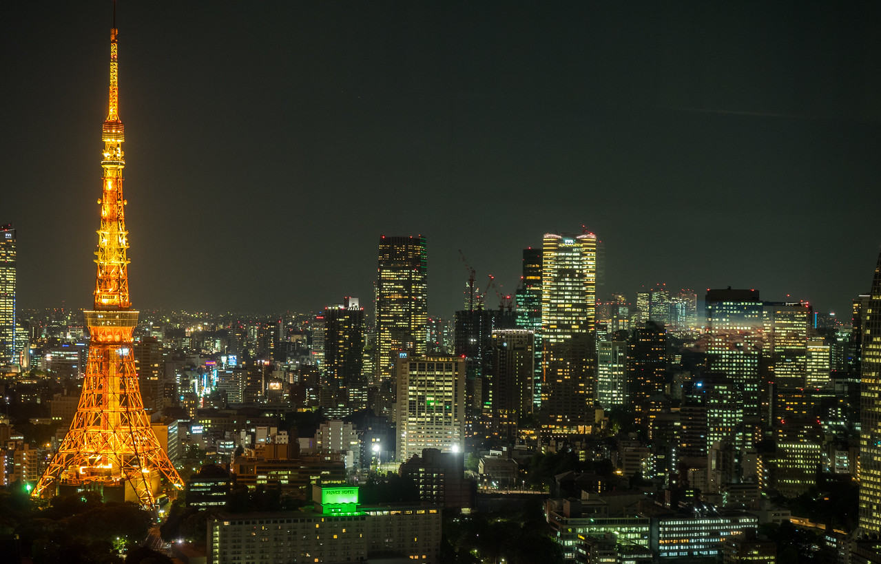 Tokyo Tower and city