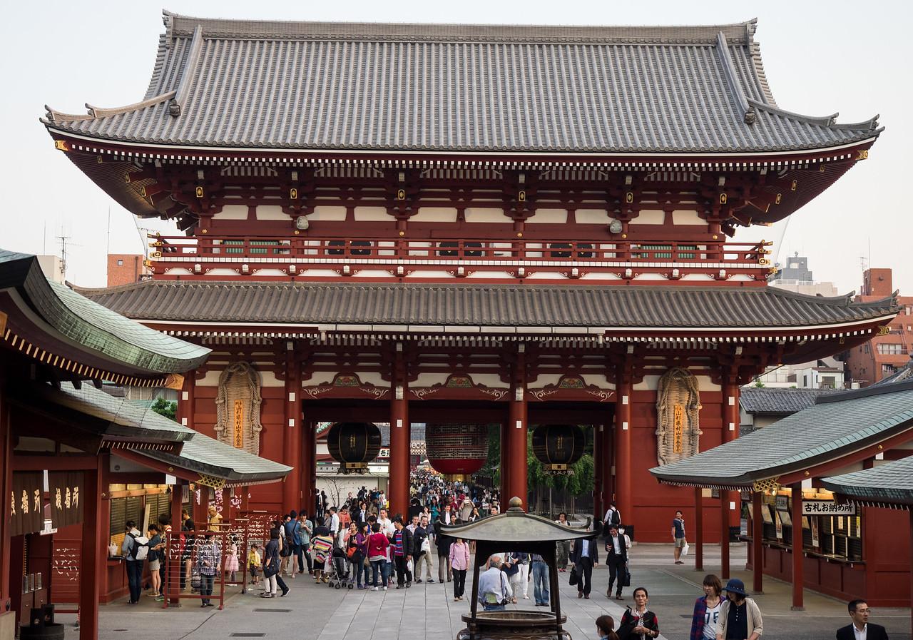 Buddhist temple, Tokyo