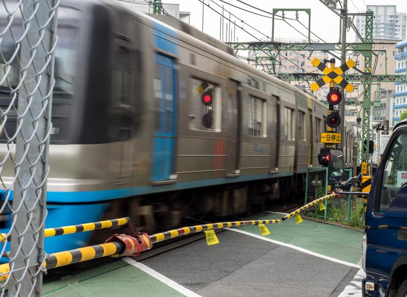 Train in Osaka, Japan