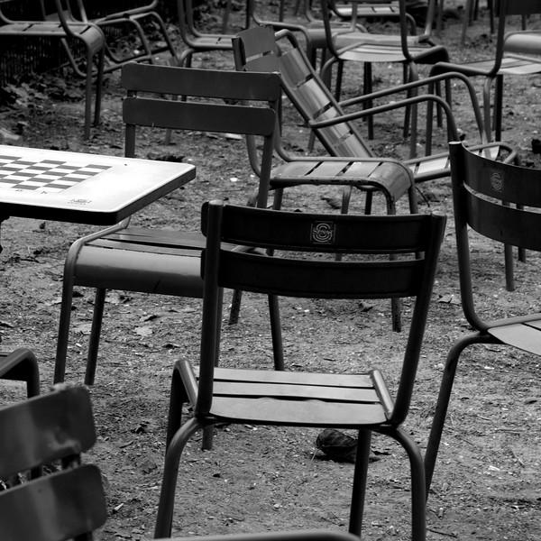 Les chaises du Luxembourg... Tout une histoire !