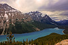 Peyto Lake, off Icefields Parkway.