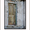 just a cool door that I saw on a broken down building...