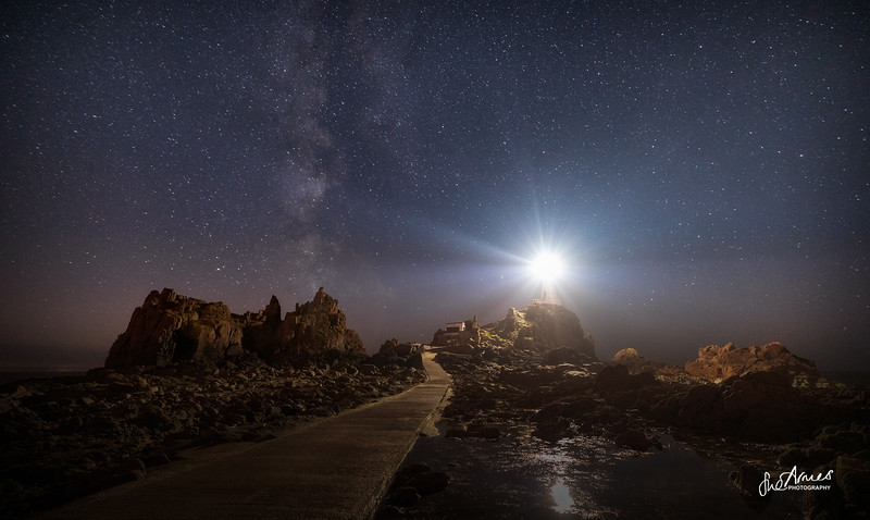 Corbiere under the Milky Way