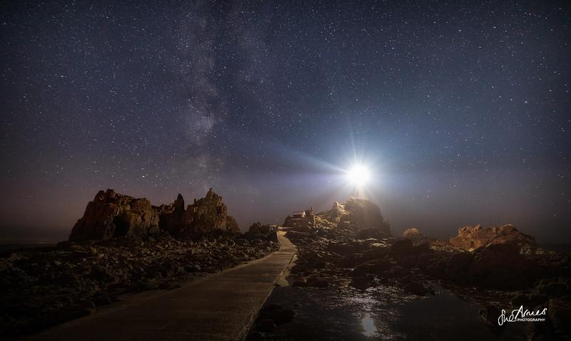 Corbiere under the Milky Way
