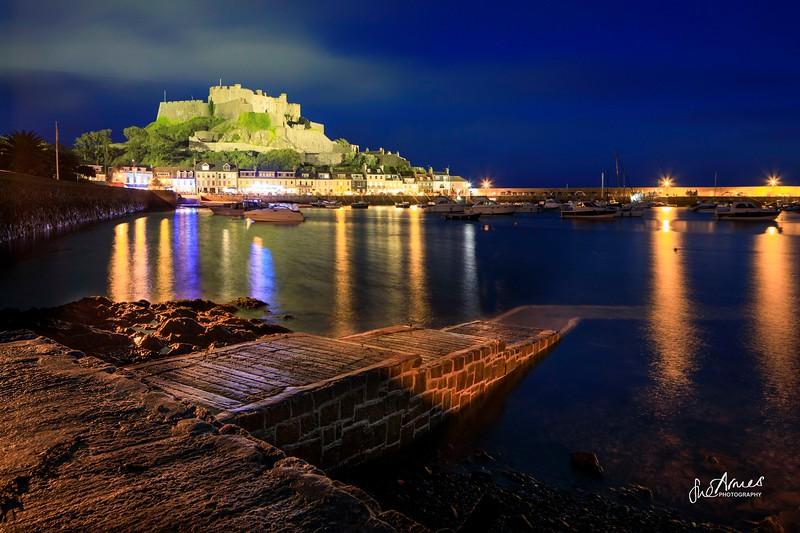 Gorey Castle at Night