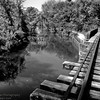 Train Bridge over Delaware Canal