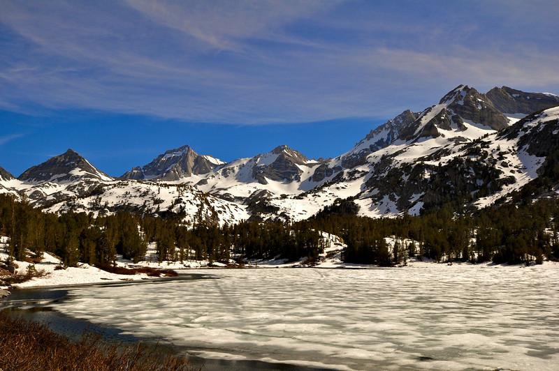 Long Lake, Little Lakes Valley, John Muir Wilderness.