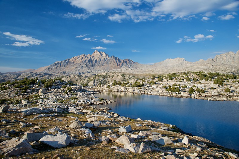 Muriel Lake, Mt Humphryes, Humpreys Basin, John Muir Wilderness
