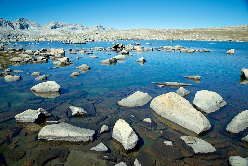 Lower Desolation Lake, Humphreys Basin, John Muir Wilderness