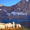 Mt. McAdie, Consultation Lake, John Muir Wilderness.