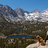 Heart Lake, Box Lake, Little Lakes Valley, John Muir Wilderness