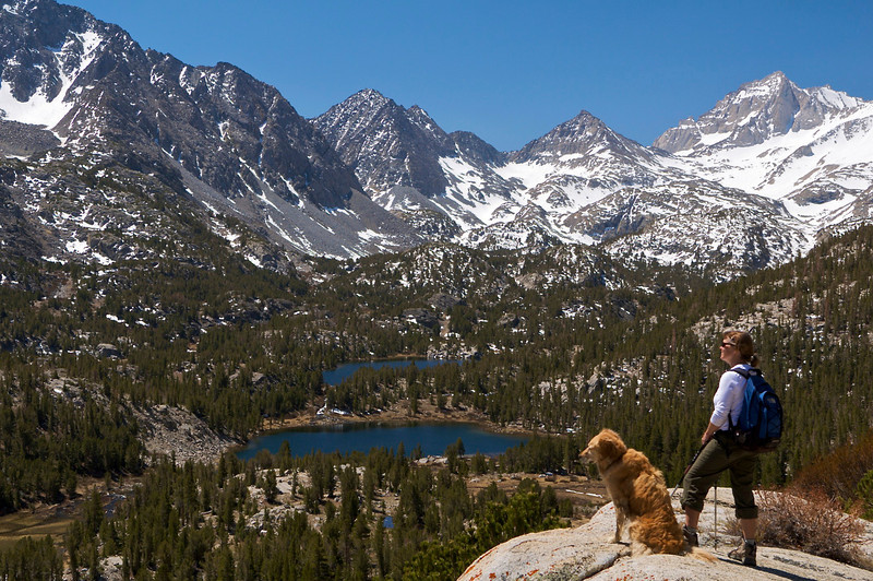 Heart Lake, Box Lake, Little Lakes Valley, John Muir Wilderness