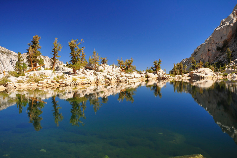 Lone Pine Lake, Whitney Portal, John Muir Wilderness.