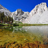 Mirror Lake, Wotan's Throne, John Muir Wilderness.