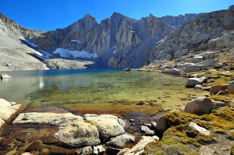 Mt. McAdie, Consultation Lake, John Muir Wilderness.
