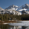 Long Lake, Bear Creek Spire, Mt. Dade, Little Lakes Valley, John Muir Wilderness